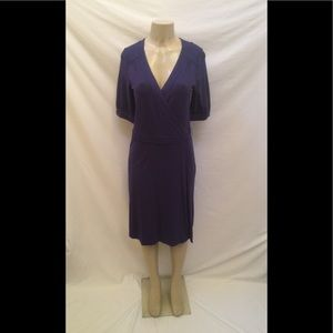 NWT Lilly Pulitzer Size Large Navy Blue Wrap Dress
